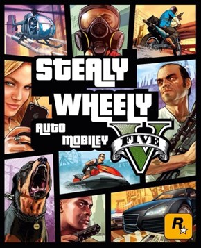 Grand Theft Auto V, England Edition