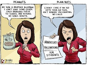 Peanuts vs. Plain Nuts