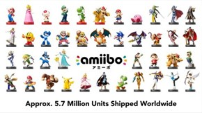 Nintendo's Shipped 5.7 Million Amiibos, Planning What are Essentially Amiibo Activated Demos