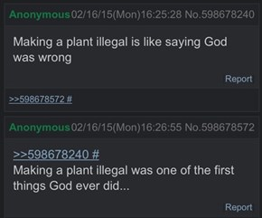 Anon Makes a Very Good Point About God and Plants