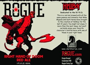 Rogue Is Making a Hellboy Beer?