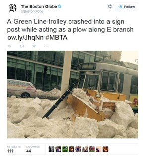 When Plowing the Streets of Boston Goes Wrong