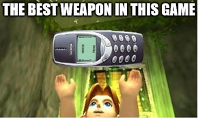 Not Even Ganondorf Can Handle the Nokia 3310