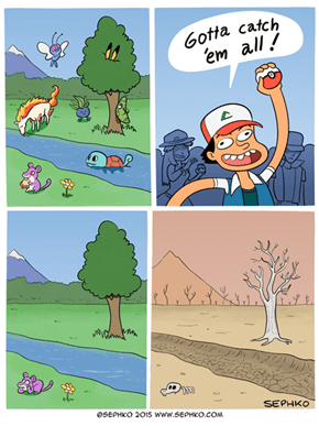Maybe We Should Rethink Catching 'Em All?