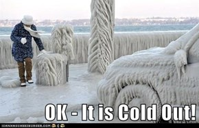OK - It is Cold Out!