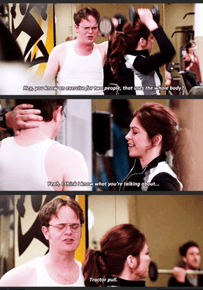 Dwight Knows How to Flirt