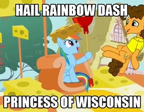Cheese Head Dashie