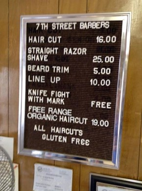 This Barber Knows How to Give the Customers What They Want