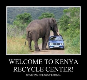 WELCOME TO KENYA RECYCLE CENTER!