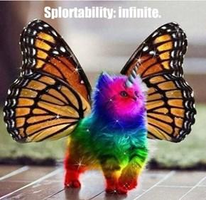 Splortability: infinite.