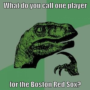 What do you call one player  for the Boston Red Sox?