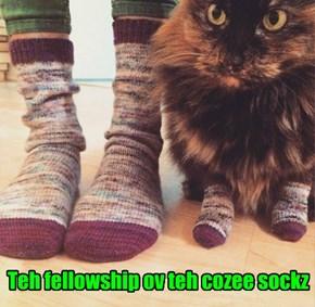 Teh fellowship ov teh cozee sockz