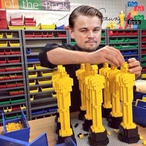 Leo Visits LEGO