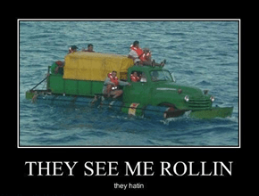 Your Floating More Than Rolling