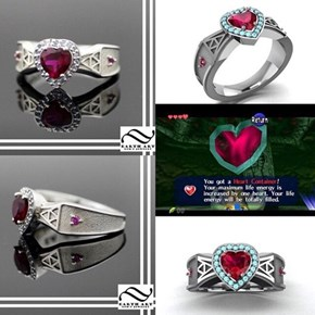 Go and Collect Heart Pieces Before You Officially Get Engaged!