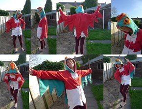 Get Ready to Flying Press in This Hawlucha Hoodie