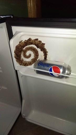 Accidental Art From Frozen Soda