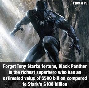 The Richest Superhero