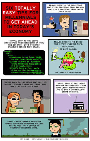 Six Totally Easy Tips For Millenials to Get Ahead in Today's Economy