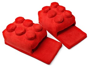 You'll be Safe From Stepping on LEGOs in These LEGO Slippers