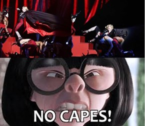 Madonna, Didn't You Ever Listen to Edna Mode?