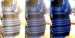 WHAT COLOR IS THE DRESS?!