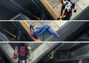 Everyday Superheroes Photographed On 1,000-Foot Ledge