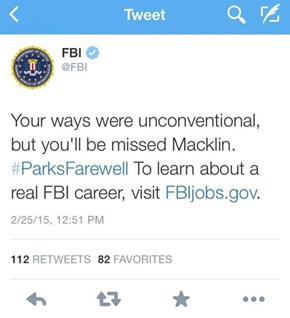 "The FBI Honors Burt Macklin, Chris Pratt's Most Ridiculous ""Parks and Rec"" Altar Ego"