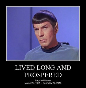 LIVED LONG AND PROSPERED