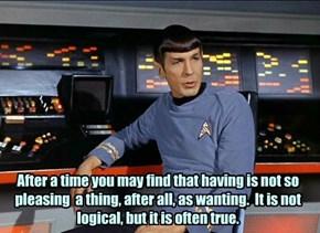 The Wisdom of Spock