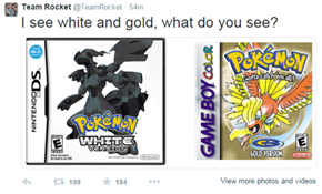 That's Definitely Black and Blue
