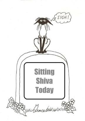 Sitting Shiva Today