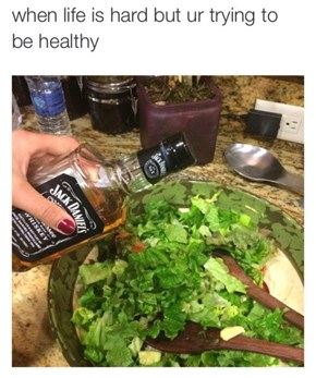 The Healthiest Salad Dressing