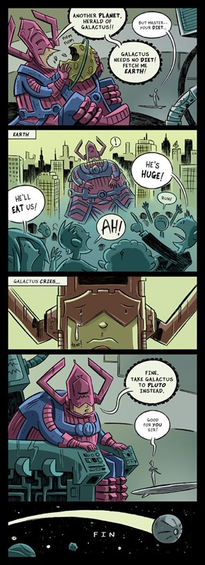 Galactus Has Body Issues