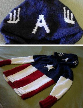 Knit Your Own Captain America Hoodie