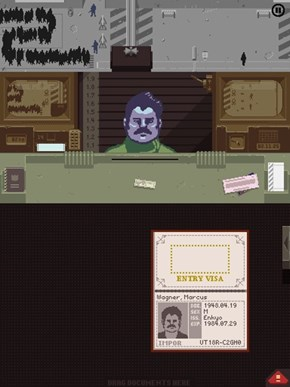 Found Ron Swanson in Papers, Please