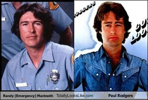 Randy (Emergency) Mantooth Totally Looks Like Paul Rodgers