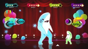 If Just Dance Had the Super Bowl Sharks You Know You Would Buy the Game