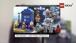 the lego IDEAS line has officially confined a lego DOCTOR WHO SET to be released this year