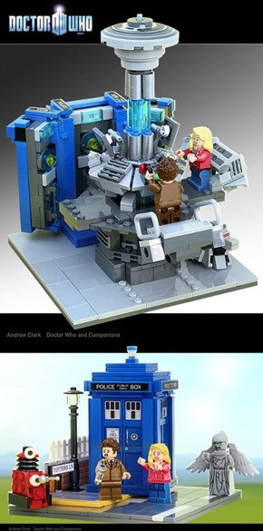 Doctor Who Comes to Lego