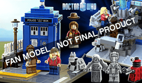 Lego Ideas Doctor Who confirmed!