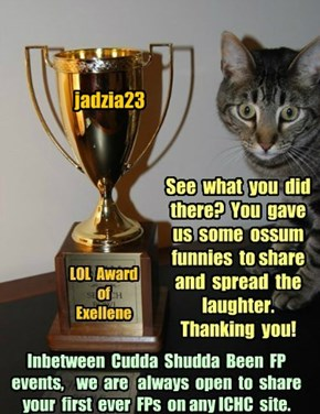 Thank you jadzia23 for participating in Cudda Shudda Been FP, Jan 2015!