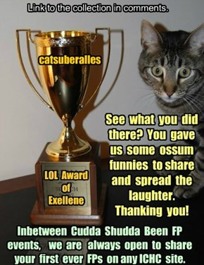 Thank you catsuberalles for participating in Cudda Shudda Been FP, Jan 2015!
