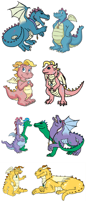 Ferocious Dragon Tales