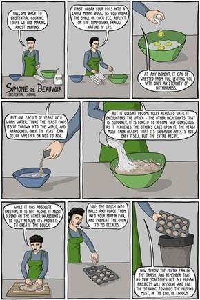 Simone De Beauvoir's Existentialist Cooking
