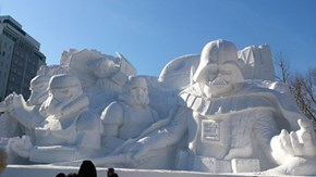 The Sapporo Snow Festival Gave in to the Dark Side of the Force