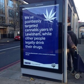 Activists in the UK Replaced Bus Stop Advertisements With Ones That Were a Little More Hardhitting
