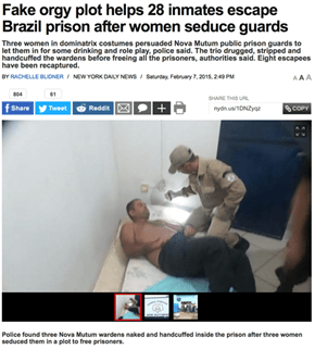 Best Prison Escape Ever