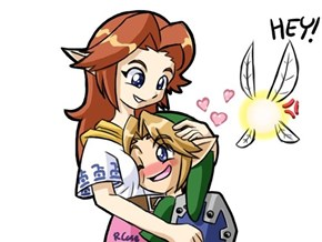 Link May Be Enjoying This a Little Too Much