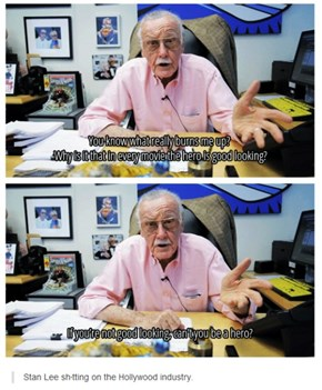 Stan Lee Is Tired of Pretty Boys